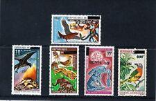 Bénin, divers oiseaux surtaxes, valeurs à 300 F. Comme neuf charnière