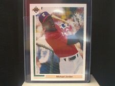 1991 UPPER DECK SHORT PRINT #SP1 Michael Jordan Chicago White Sox Card RARE MINT