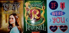 3 Book Set Princess Acadamy Rapunzel If I Were You 8-15 yr old New   Gift