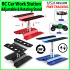 Model Repair Station Work Stand Rotate 360° For 1/8 1/10 RC Car Assembly Tool