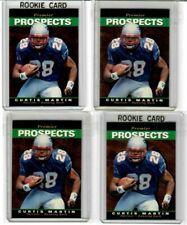 18X CURTIS MARTIN 1995 Upper Deck SP Premier Prospects LOT ROOKIE RC Patriots