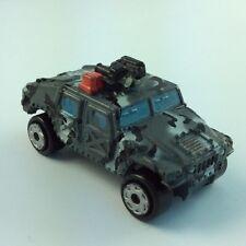 MICRO MACHINE LOT MILITARY VEHICLE M1045 Hummer Humvee Truck Gray Terror Skull