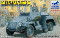 Bronco 1/35 35095 German Sd.kfz.247 Ausf. A Armored Command Car Hot