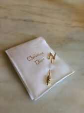 CHRISTIAN DIOR LETTER N STICK PIN
