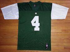 1029c NWOT L Green White REEBOK Team Apparel Favre #4 NY Jets Football Jersey!