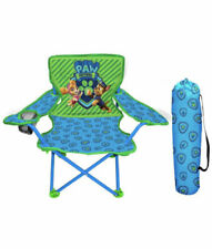 Jakks Pacific Paw Patrol Neutral Camp Chair for Kids Portable Camping Fold N Go