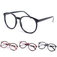 Vintage Unisex Mens Womens Glasses Fashion Retro Round Frame Eyeglasses