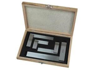 Faithfull Engineers Squares Set, 4 Piece (50, 75, 100, 150mm) FAIESSET4