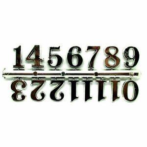 New Self Adhesive Black Silver Gold Plastic Clock Numbers - Clock Making - Craft