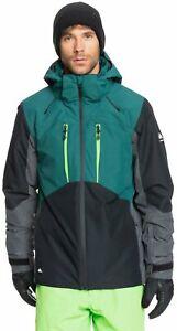 Quiksilver Mission Plus Snow Jacket - June Bug - New
