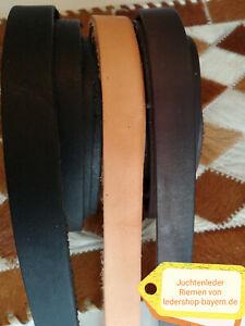 Juchtenleder Lederriemen Fettleder Lederriemen 140-270 x 2cm braun schwarz natur