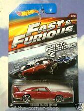 2015 hot wheels fast & et furious dom's 1969 dodge charger daytona rouge f&f 6