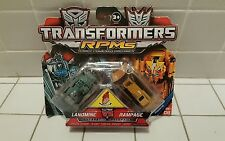 Transformers RPMS Rampage et Landmine  Hasbro 2009 Neuf