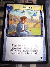 HARRY POTTER TCG CHEMIN DE TRAVERSE BLESSURE 40/80 UNCO FRANCAIS NEUF