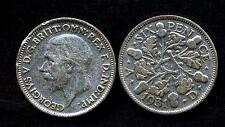 GREAT BRITAIN 6 Pence 1931 AG George V