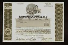 Oil : Diamond Shamrock Inc ( now Valero Energy )  old stock certificate