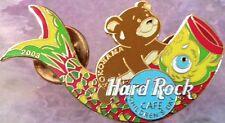 Hard Rock Cafe YOKOHAMA 2003 CHILDREN'S DAY PIN Baby BEAR Carp Kite - HRC #18086