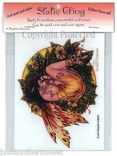 Marjolein Gulinski Sweet Dreams Static Cling Decal Nest Fairy Faery New