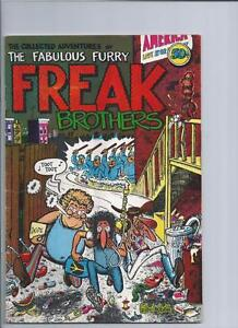 freak brothers hi grade underground comic