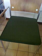 Coussin / Galette chaise ou fauteuil de jardin vert olive Gloster