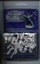 Heavy Gear Blitz NuCoal Lancier two Pack MINT