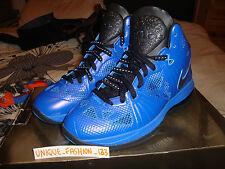 1c533ad303a 2011 Nike Lebron 8 PS Playoff US 9 UK 8 EU 42.5 Black Royal Blue Navy
