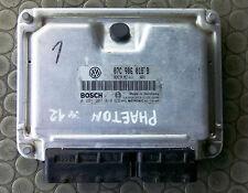 VW Phaeton W12 ECU 07C906018B Bosch 0261207018