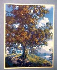 MAXFIELD PARRISH PEACEFUL VALLEY BROWN BIGELOW CALENDAR
