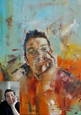 More details for custom portrait oil paintings, commissions, from photo, people, pets, couples