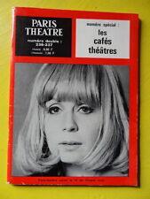 Paris Théâtre n° 236-237 Les Cafés Théâtres Pierre Gripari La Divine Farce
