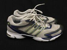 ADIDAS Adiwear Men's Running Athletic Shoes Gray Blue Green Men's Size 12