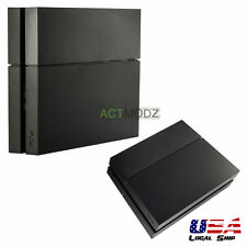 Solid Matte Black Hard Drive Bay Cover Faceplate for Playstation 4 PS4 Console