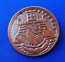 Yugoslavia Serbia, Coat of arms of Belgrade, Old vintage badge, RARRE !