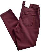 MAC Jeans DREAM Skinny Authentic Stretch Röhre bordeaux marsala Gr.36 L 32 NEU