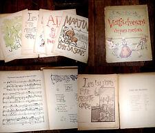 vieilles chansons du pays nantais 1er fasc. 7 partitions piano chant 1901