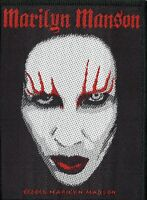 Marilyn Manson ' FACE ' Woven Patch