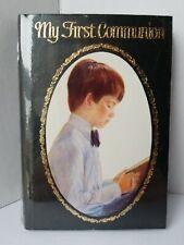 Vintage Roman 1978 My First Communion Boy's Prayer Book Black Cover sealed new