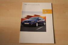 69344) Opel Astra Coupe Linea Blu Prospekt 08/2002