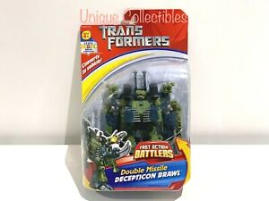 Transformers Decepticon Brawl Fast Action Battlers Double Missile Brand New Rare