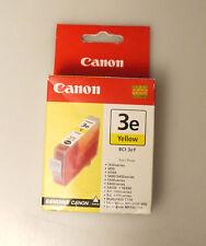 (PRL) CANON 3e YELLOW BCI-3eY GIALLO CARTUCCE INCHIOSTRO ORIGINAL INK CARTRIDGE