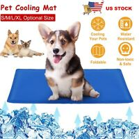 Pet Cooling Mat Cool Pad Comfortable Cushion Mattress Bed for Dog Cat Puppy