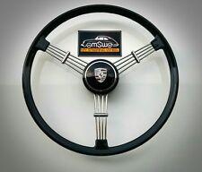 1Banjo 3 spoke Steering Wheel for Porsche 356 or VW 1959-197  Petri style repro.