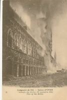 POSTCARD  MILITARY  WWI   YPRES   The  Ruins