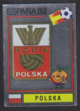 Panini - Espana 82 World Cup - # 54 Polska Foil Badge