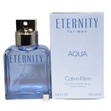 Eternity Aqua By Calvin Klein For Men Eau De Toilette For Men 3.4 Oz 100 Ml S...
