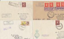 1961-68 lot of 7 x Melbourne Australia Paquebot covers inc Oriana & Timaru Star