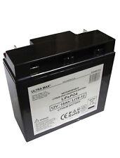 ULTRAMAX LI18-12, 12V 18AH (17Ah & 20Ah) fosfato de litio LiFePo 4 batería del UPS