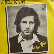 "Greg Kihn(7"" Vinyl)For You-Beserkley-BZZ4-UK-VG+/Ex"