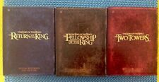 Lord Of The Rings Motion Picture Trilogy Special Extended Edition 12 DVD 3 Sets