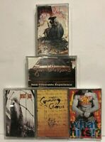 Rock Cassette Lot Pearl Jam, Counting Crows, Red Hot Chill Peppers, Gin Blossoms
